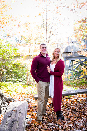 Ashley + Dave Engagement | Morris Arboretum