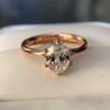 1.05ct Oval Cut Diamond Solitaire, GIA H SI1 27