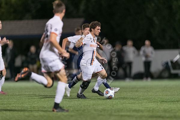 Wheaton College Men's Soccer vs Elmhurst, October 2, 2018