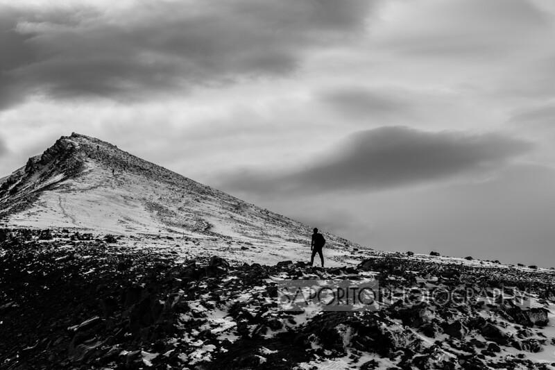 Mount Salur, Akureyki, Iceland, August 2018.