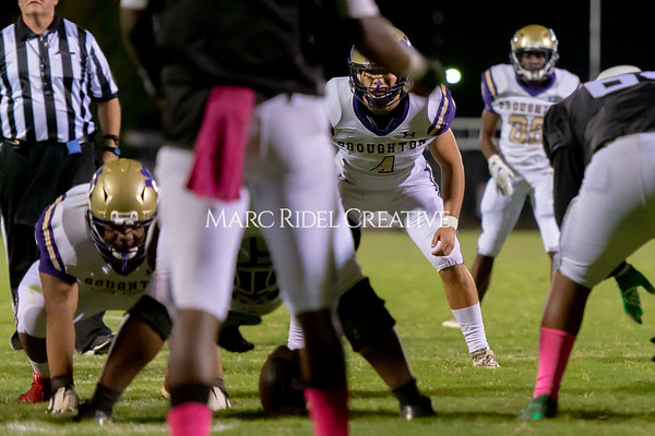 Broughton Varsity football at Southeast Raleigh. October 4, 2019. D4S_5093