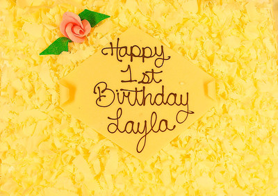 LAYLA'S DEDICATION AND BIRTHDAY