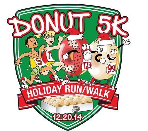 2014 Donut 5K - Final Year at the Monon Center