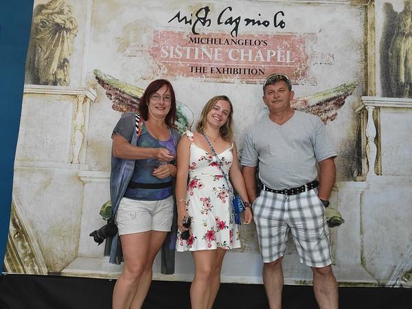 SC, Charleston - Sistine Cahpel - Michael Angelo Exhibit