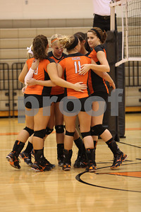 WHS Volleyball vs West 9-4-12