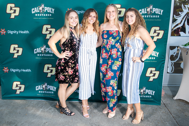 Cal Poly photo shoot day 2 included mens and women soner and some of football. Photo by Owen Main 5/31/19