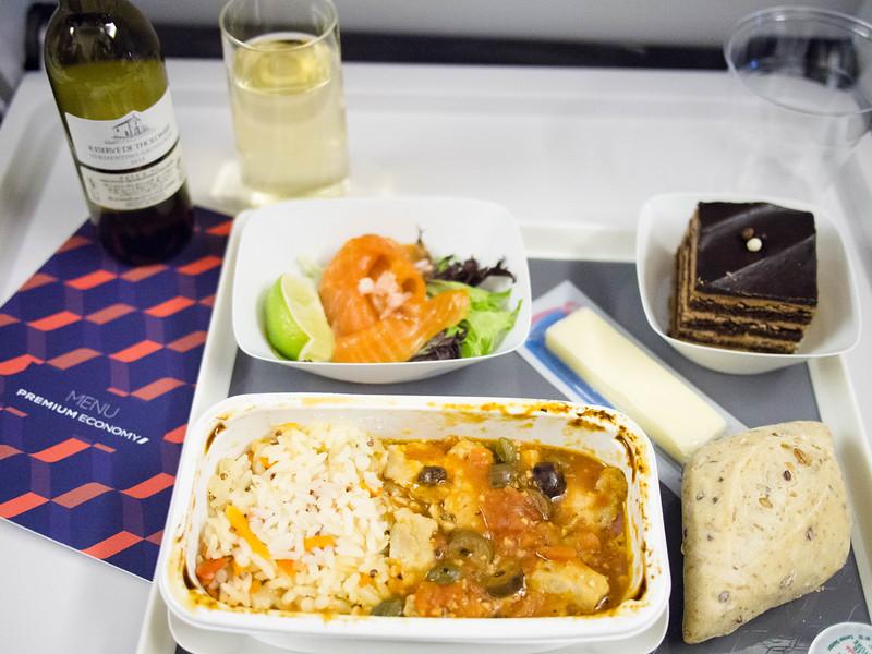 Air France Premium economy meal 2.jpg