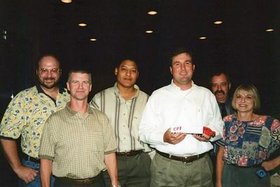 8-21-2000 Juanita Retire, Burgett Ann, Saul Adios
