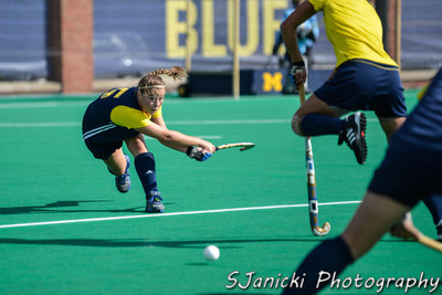 Michigan Field Hockey Vs Pacific 9-28-12