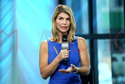 """New York, NY - August 03 2017:  Lori Loughlin at The Thursday, Aug 3, 2017 BUILD Series discussing the show """"Fuller House"""" at BUILD Studio."""