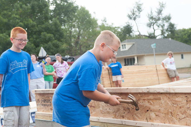 Habitat for Humanity Groundbreaking ceremony on chase street