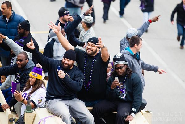 Ravens XLVII Super Bowl Parade