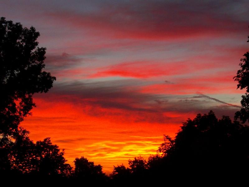 Sunrise - August 17, 2010. Time 6:17 am EDT.