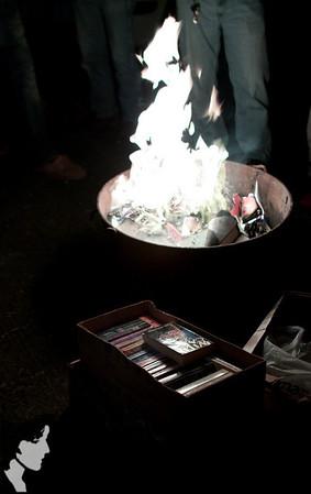 Book Burning!