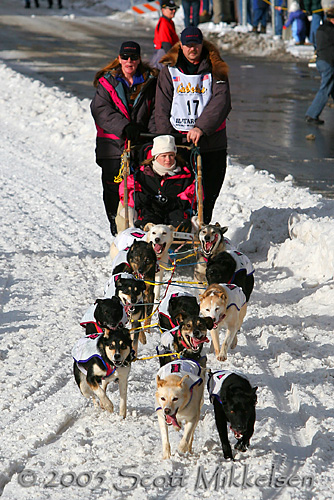 2005 Iditarod (Anchorage Start)