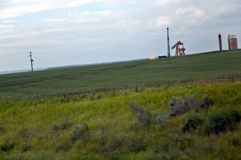 Gas Flare, South Dakota