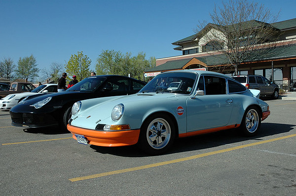 A Gulf Porsche at the C&C