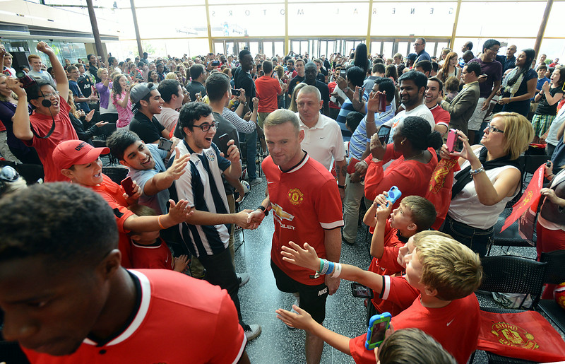 Manchester United Welcomed in Detroit