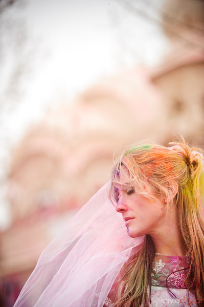 Trash the Dress - Festival of Colors style