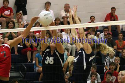 2007 NHS Volleyball / Bellevue
