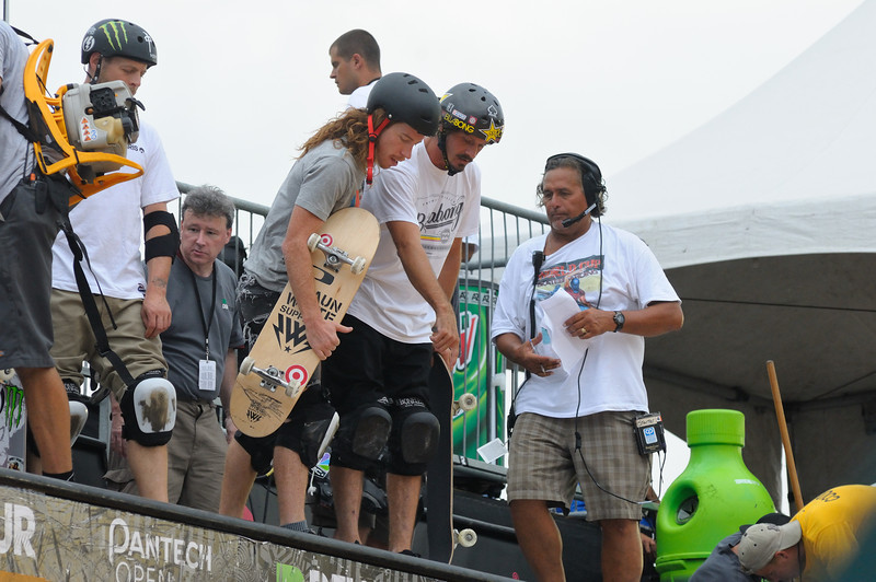 Shawn White and Bucky Lasek