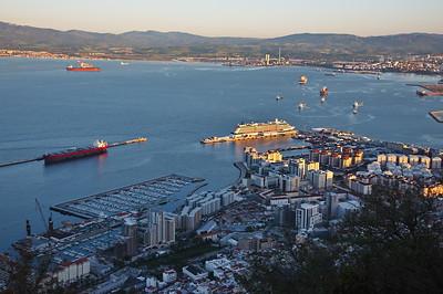 Gibraltar, UK - May 14
