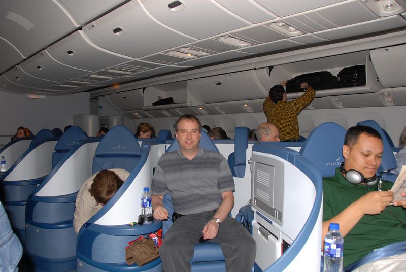 Delta's new business class seats