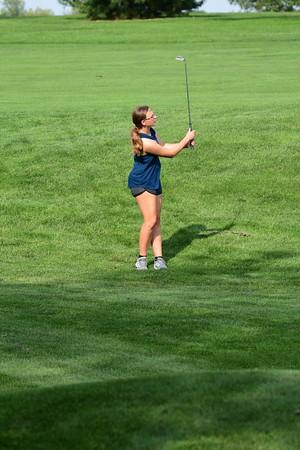 Girls Golf Practice