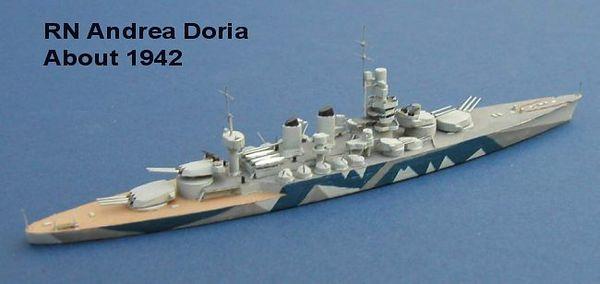 Italy WW2 Battleships