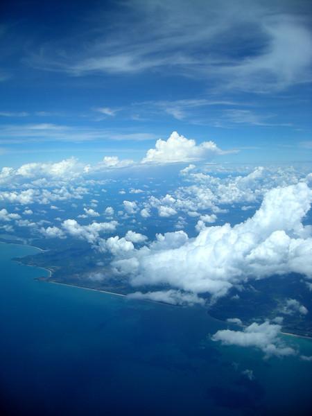first glimpse of Borneo