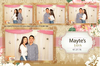 Mayte's 50th