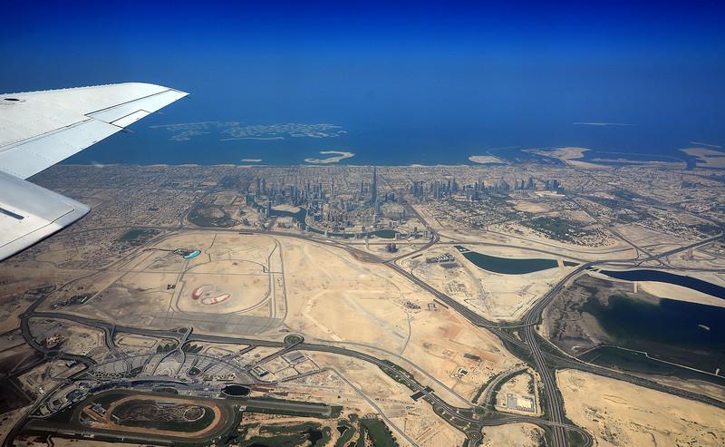 Dubai from 8,000ft 2014