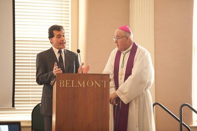Ash Wednesday 2012 with Bishop Chobu