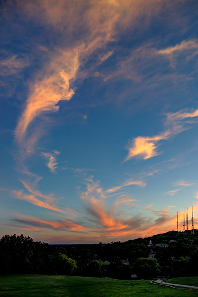20200812 Cobb's Hill Sunset