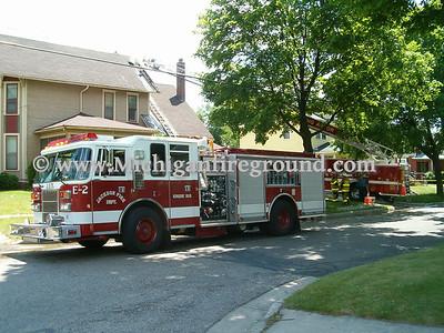 6/6/05 - Jackson house fire, 901 Second