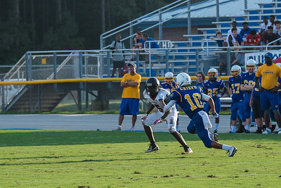 NMB JV Football Game against Carolina Forest