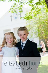 Braeden & Andrew's First Communion