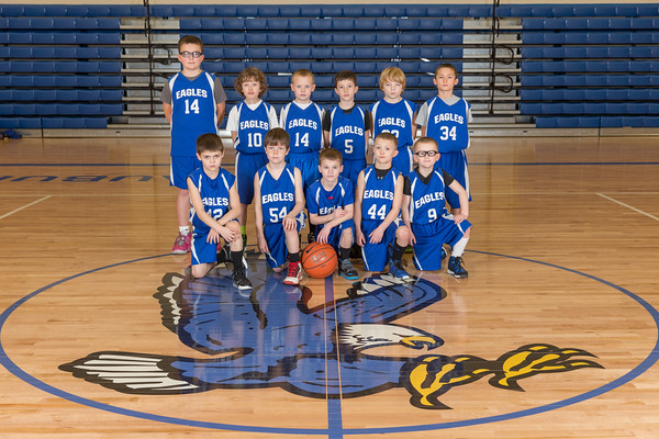 3rd Grade Eagle AAU Basketball - 2014