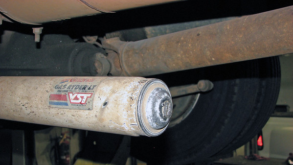 October 1:  Our Dodge truck needs rear shocks .  .  .