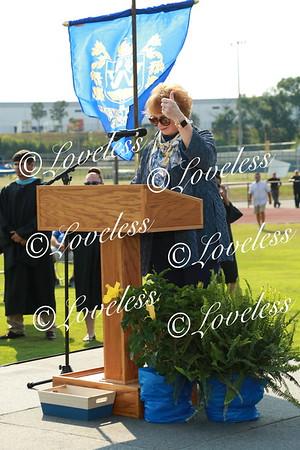 4:00 Graduation (receiving diplomas)