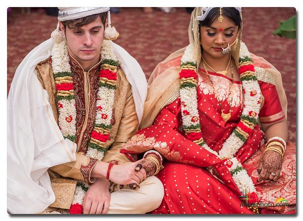 Paul & Piyu's Wedding at DurgaBari Temple