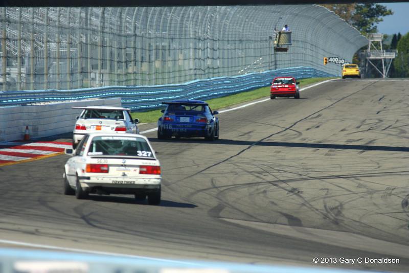 BMW CCA Club Racing, Watkins Glen International, Friday, 20-Sep-2013; Front straight
