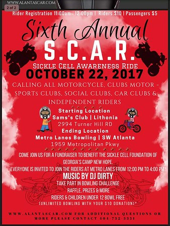 S.C.A.R. (Sickle Cell Awareness Ride)