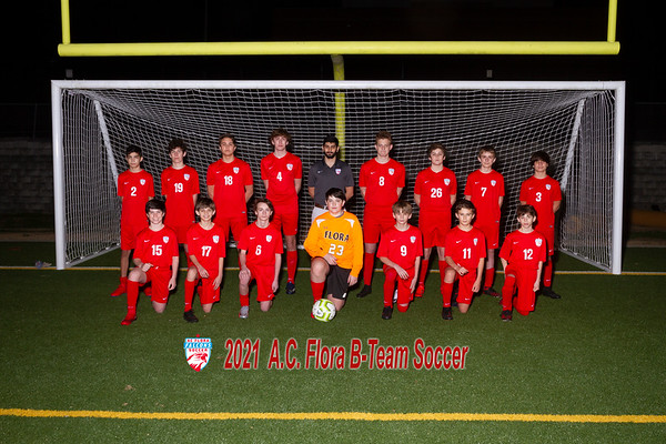 2021 Boys Soccer  B-Team