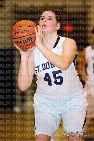 St Anthony's VS St Dominics, Girls Varsity Basketball 02.20.12