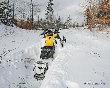 Snowmobiling 2013