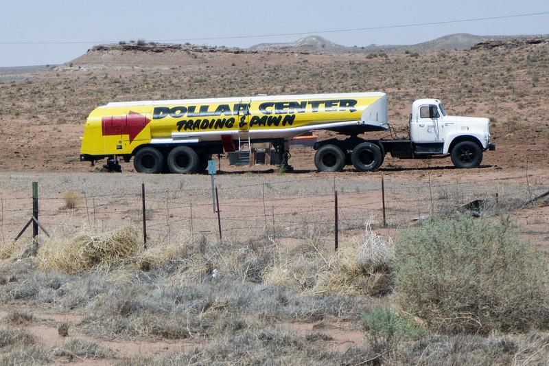 Old Fuel Truck Arizona
