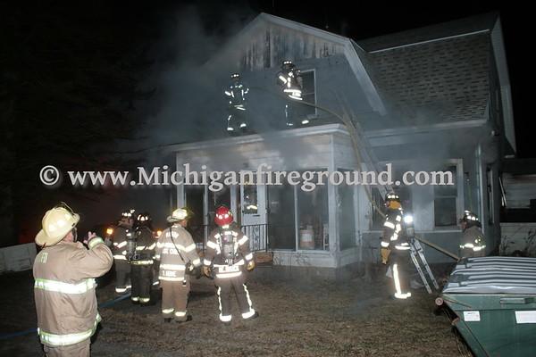2/9/17 - Dansville house fire, 225 N. Kendrick