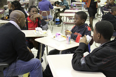 Eugene Butler Mid.SCH.  100 BMOJ School  Lunch and Learn
