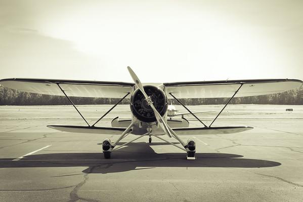 1938 Waco Biplane - Hanover Air Park